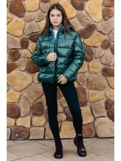Куртка G'n'K арт С-669 Темно-зеленый
