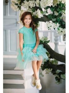 Платье Дували арт.031 мята
