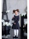 Платье по лекалам Дували арт 183323- Х серый