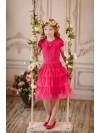 Платье Дували арт.031 малиновый