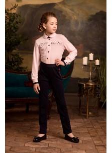 Блузка Розовый Какаду арт 20317 розовый